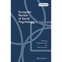 European Review of Social Psychology: Volume 15