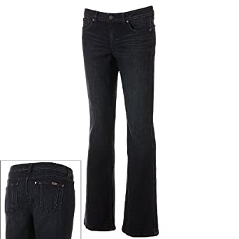 03b9378236f Image Unavailable. Image not available for. Color  Jennifer Lopez Bootcut  Jeans