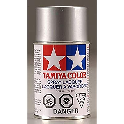 Tamiya America, Inc Polycarbonate PS-12 Silver, Spray 100 ml, TAM86012: Toys & Games