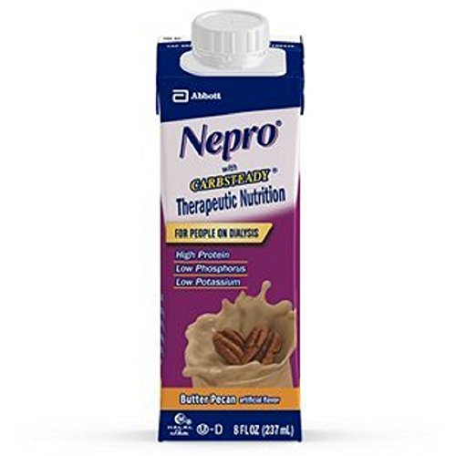 Nepro With Carb Steady Complete Nutrition  Butter Pecan  Case Of 24 Containers