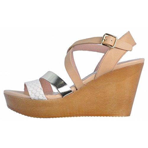 Humat Sandalias y Chanclas Para Mujer, Color Hueso, Marca, Modelo Sandalias Y Chanclas Para Mujer CT Street Slip Hueso Hueso