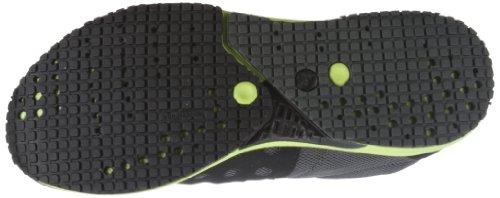 Puma - Zapatillas de deportivo infantil Schwarz (black-lime punch-puma silver 03) (Schwarz (black-lime punch-puma silver 03))