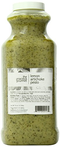 The Gracious Gourmet Lemon Artichoke Pesto, (Artichoke Lemon Pesto)
