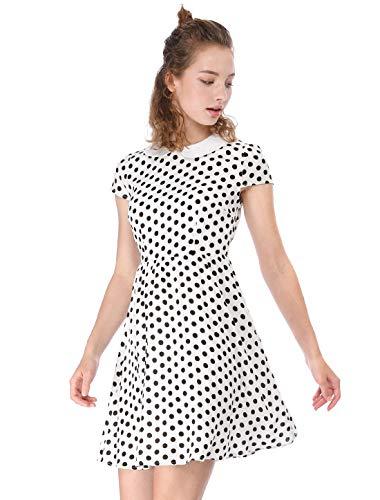 peter pan collar dress xs - 6
