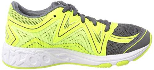 Asics Noosa GS, Zapatillas de Running Unisex Niños Amarillo (Carbon/safety Yellow/mid Grey 9707)