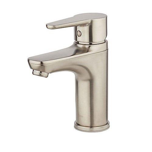 irst Modern Bathroom Sink Faucet Brushed Nickel ()