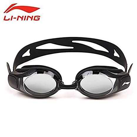 1a0913af82 Swimming Goggles Prescription Swimming Goggles Nearsighted Shortsighted  Optical Swim Glasses Lens LINING L508 Black (-