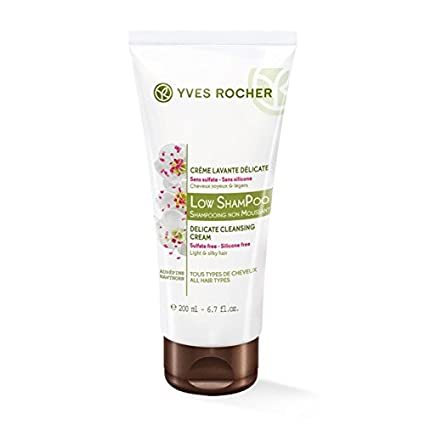 yves rocher low shampoo  : Yves Rocher BHC Low Shampoo 200ml: Kitchen & Dining