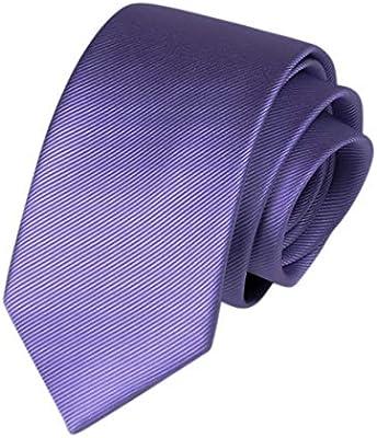Hemotrade Corbatas de Corbata para Hombres de Color sólido Corbata ...