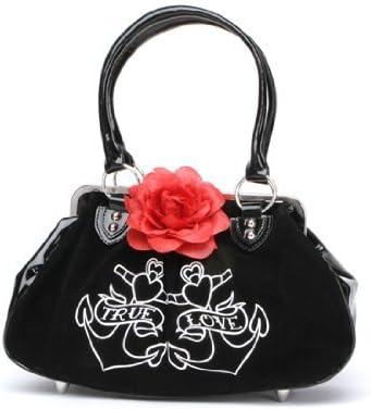 LzVong Kiss Me Get Lucky Canvas Shoulder Bag Handbags Tote Shopping Bag