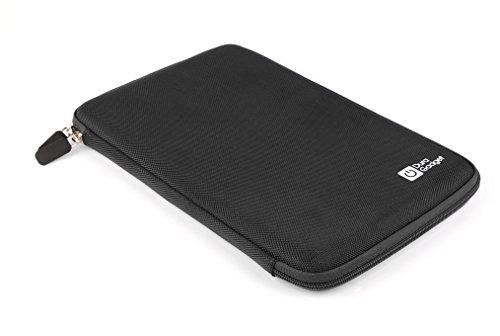 DURAGADGET Rigid Black Zip Pouch With Interior Strap For ...