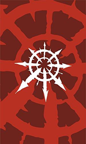 (Warhammer Flag | Chaos Portrait | 3x5 ft / 90x150cm | Long Lasting Flag)