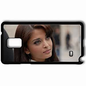Personalized Samsung Note 4 Cell phone Case/Cover Skin Aishwarya Rai Black