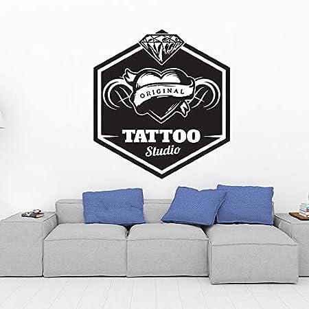 yaoxingfu DIY Tatuaje Personalizado Etiqueta de la Pared del ...