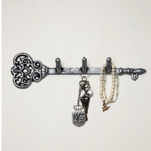 Comfify Decorative Wall Mounted Key Holder - Vintage Key Wit
