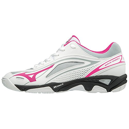 Mizuno White para Zapatillas Black Wave 001 Multicolor Mujer Ghost Pinkglo 7xan64r7