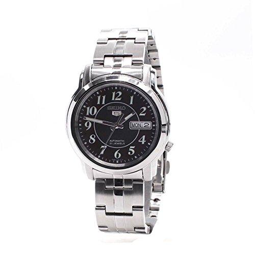 Seiko-Mens-SNKL91K1-5-Series-Black-Watch