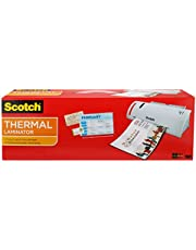 Scotch Laminadora térmica (incluye 20 bolsas para laminar tamaño carta, para hojas de hasta 21,6cm x 27,8 cm (TL902VP))