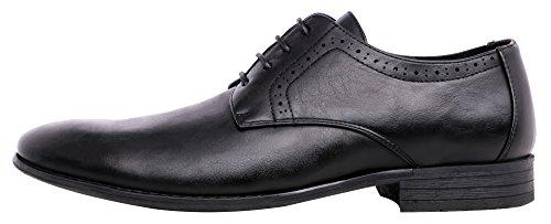 Dress for Shoes Oxford Men's Shoes Men JOUSEN 4 Black HwBq5n