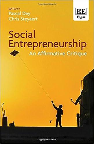 Social Entrepreneurship: An Affirmative Critique