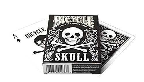 Bicycle Skull Playing Cards (2-Pack)