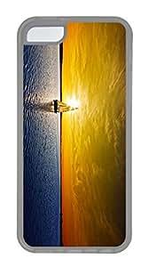 iPhone 5c Case Unique Cool iPhone 5c pc Transparent Cases Amazing Sunset 2 Design Your Own iPhone 5c Case