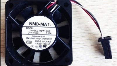 huayu ForNMB CNC Machine Tools 2406KL-05W-B59 6015 24V 0.13A Fanuc Special Cooling Fan