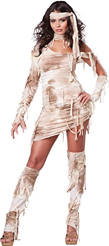 Womens Halloween Costume- Mystical Mummy Adult Costume Small - Mystical Mummy Costumes