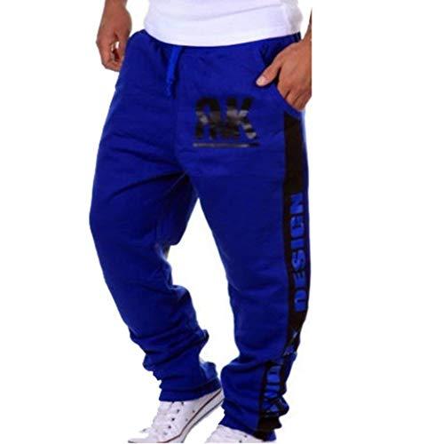 Blau Survêtement Noir Bleu Classique Long Pantalon Printemps Couleur Automne Homme Décontracté Garçons OZTq85Pw