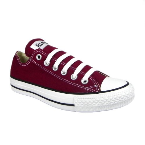 b87843a8abe5 Converse M9691 Unisex All Star Ox Canvas Trainers Mens Sizes Available -  Maroon  Amazon.co.uk  Shoes   Bags