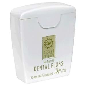 Desert Essence Dental Floss-Tea Tree Oil 50 Yard Floss