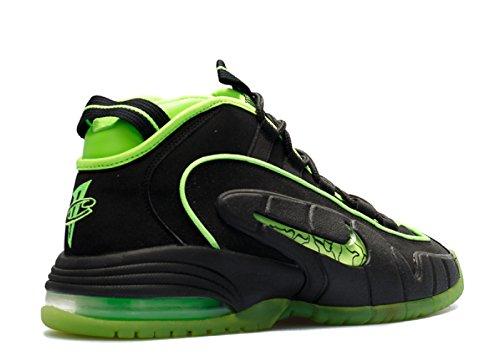Nike Air Max Penny 05 Hoh Maat 9.5 Highlighter Pak Zwarte Elektrische Groen