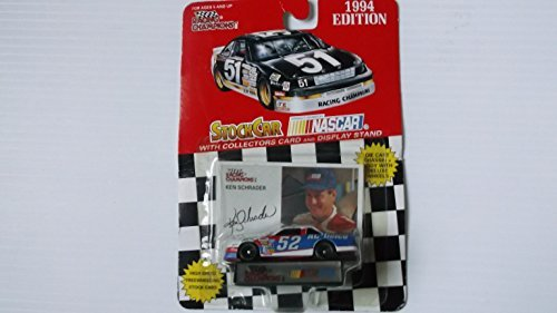 4 scale diecast stock car #2 Rusty Wallace with collectible card 1996 Edition ()