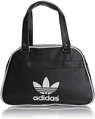 Adidas Bowlb Classic - Bolsa de Deporte para Mujer, Color Blanco/Negro