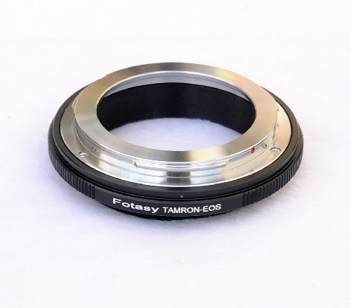 Fotasy EFTM Tamron Adaptall Manual Lens to Canon EOS EF Mount Camera (Manual Focus Adaptall Lens)
