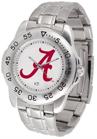 Alabama Crimson Tide Sport Steel Men's - Crimson Alabama Crystal Tide
