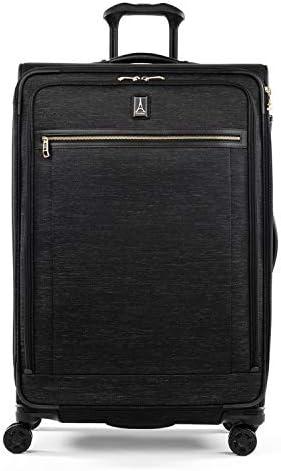 Vintage Grey Travelpro Platinum Elite-Softside Expandable Upright Luggage