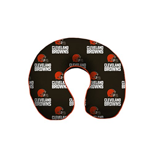 Cleveland Browns Pillow Case (Pegasus Sports NFL Cleveland Browns U-Neck Memory Foam Travel Pillow)