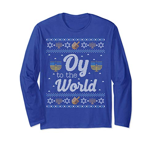 Hanukkah Sweater Oy to the World