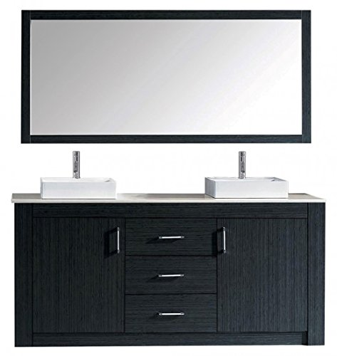 Virtu Usa Js 50524 Gw Prtset1 Bailey 24  Single Bathroom Vanity Set  Gloss White
