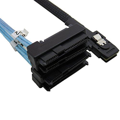 CableDeconn Mini SAS 36 SFF-8087 to (4) SFF-8482 Connectors With SATA Power 1m by CableDeconn (Image #5)'