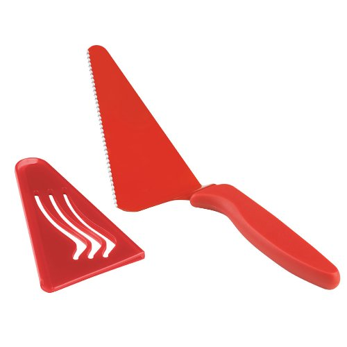 UPC 705475215637, Kuhn Rikon Wedge Slice and Serve Slicer, 10-Inch, Red
