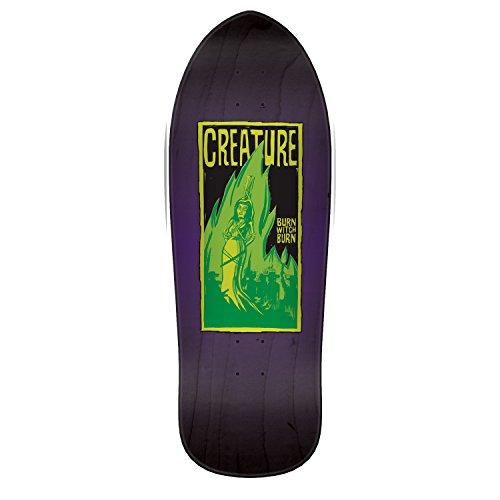 Creature Burn Witch Burn Relic 9.89in x 29.82in Skateboard Deck