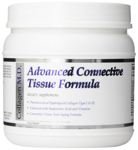 Connective Tissue Collagen - Collagen MD Advanced Connective Tissue Formula Powder, 14 Ounce