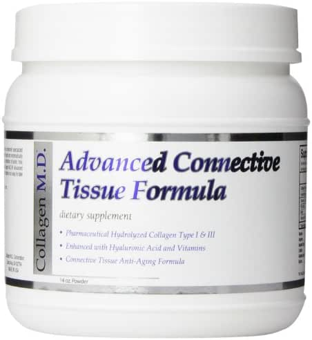 Collagen MD Advanced Connective Tissue Formula Powder, 14 Ounce