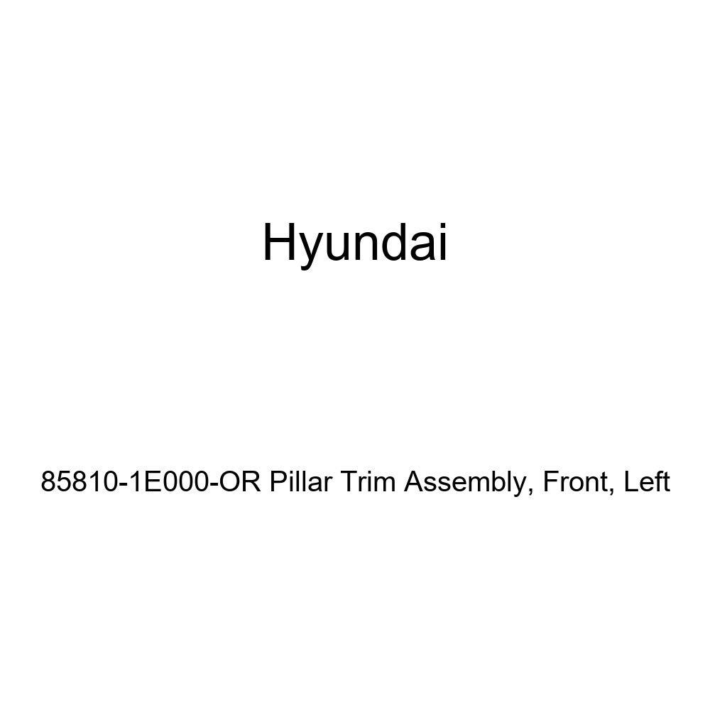 Left Front Genuine Hyundai 85810-1E000-OR Pillar Trim Assembly