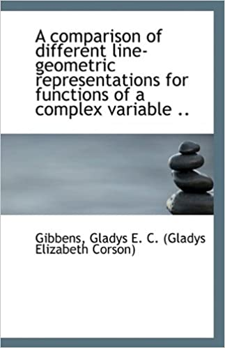 Ebook descargar deutsch ohne anmeldungA Comparison of Different Line-geometric Representations for Functions of a Complex Variable FB2
