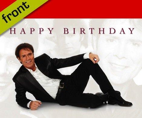 Cliff Richard Signed Birthday Card Amazon Kitchen Home
