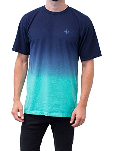 Neff Mens Dip Short Sleeve Tee Shirt  Teal  M