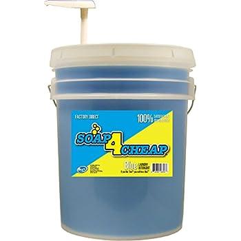Soap 4 Cheap Liquid Laundry Detergent - 640 Loads per Bucket 5 Gallons